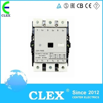 China manufacture good performance CJX1-110/22 contactor