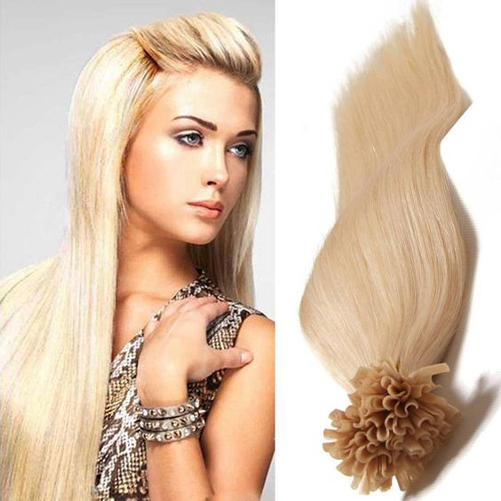 #<strong>24</strong> light color keratin fusion tip 100% remy human hair extension <strong>u</strong> tip hair