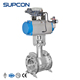 High Quality AISI/GB/DIN/JIS Stainless Steel Pneumatic Actuator handles round ball valve dimensions DN100