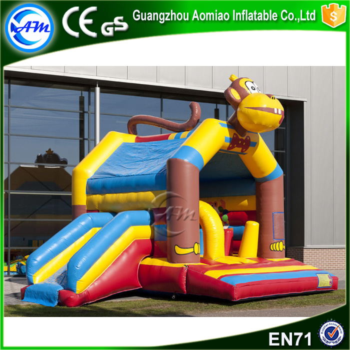 Cheap commercial giant monkey inflatable bouncer cheap bounce house bouncy castle for sale