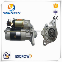 Factory Price S4D95 Starter Motor For PC60-5 PC60-6 Excavator , 24V 9T 4.5KW Diesel Engine Parts , 0-23000-2542