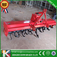 mini CE approved kubota tractor rotary tiller for sale / used rotary tillers for sale / tractor pto rotary tiller