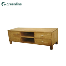 Top quality furniture indonesia teak simple wood cabinet malaysia wall cabinet tv stand
