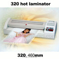 A3 size electric pouch laminating machine for non-laminating pvc sheets
