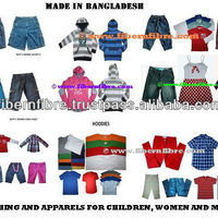 Garments Apparel Clothing For Men Women