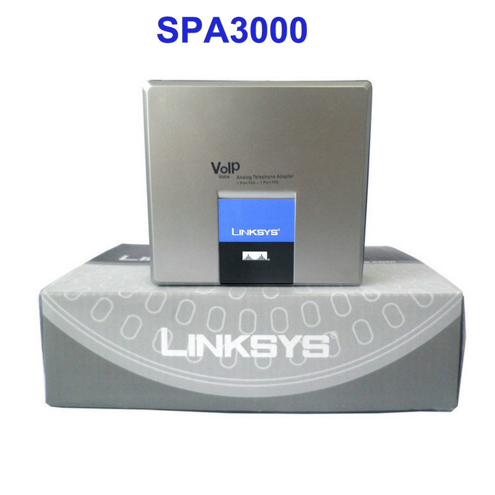 Hot selling !!! Unlocked Linksys pap2t , Voip Linksys adapter
