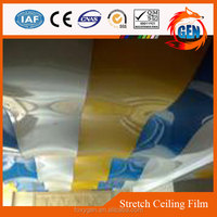 high stretch interior comfortable decorations pvc ceiling reinforced membrane