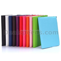 Fashion Stand PU Leather Covers for iPad Air