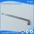 Top quality best price 7 sections 440mm am toy telescopic antenna for TV and radio