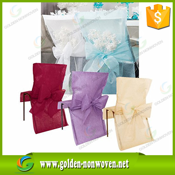 10 years of experience Waterproof tnt textile/light weight pp spunbond nonwoven fabrics/non woven fabric disposable chair cover