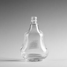 Wholesale 100ml small clear empty liquor bottle