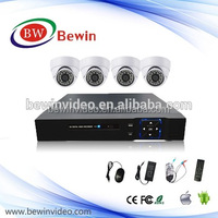 4ch 1080N AHD dvr and AHD dome camera with Remote Control