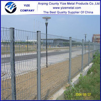 decorative removable galvanized welded wire garden fence panels inserts