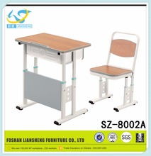 Foshan factory five star base cheap study table school furniture