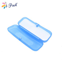 High Quality Colorful Clear Hard Plastic Glasses Case