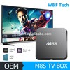 OEM Branding kodi 16.0 Metal Case amlogic S905 m8s android media player box with low price
