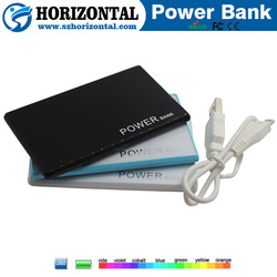 New products 2015 cheap mobile power bank 2200mAh wholesale China