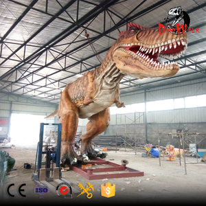 2018 hot sale animatronic life-size waterproof 3D T-Rex Dinosaur models