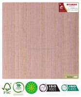engineered artificial wood veneer gray oak-638Q door veneer skateboards with fleece/paper backed