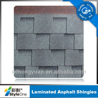 laminated asphalt roofing tiles for waterproofing