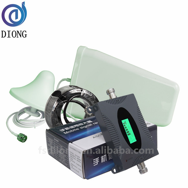 65dB GSM 900MHz Mobile Phone Signal Booster Amplifier Cell Repeater External Antenna Internal