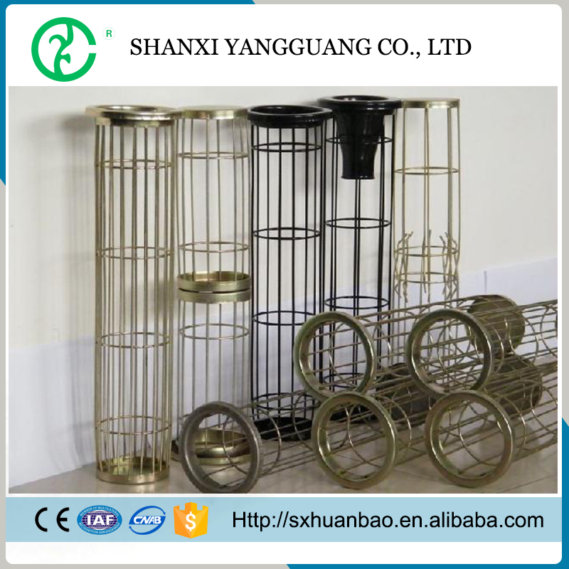 Cement plant use galvanized iron wire filter cage low price