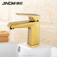 JM026 Single Lever Cold And Hot Water Brass bathroom wash basin mixer Faucet