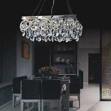 New Arrival Modern Design Crystal Dining Room Ceiling Light Lamps Fixture