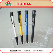 plastic ball pen ,colorful refill pen