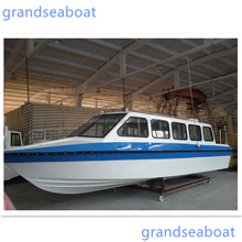 18seats Outboard Engine Model Fiberglass Passenger Boat