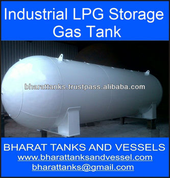 """Industrial LPG Storage Gas Tank"""
