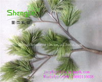 SJLJ0802 Shengjie wholesale Artificial leaf / fake pine leaf / foliage leaves