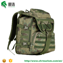 camo tactical backpack with molle webbing 600D overland army combat pack military waterproof backpack