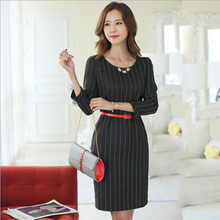 EY0034D Newest Hot Selling Office Lady White Dress Sexy Women Without Dress
