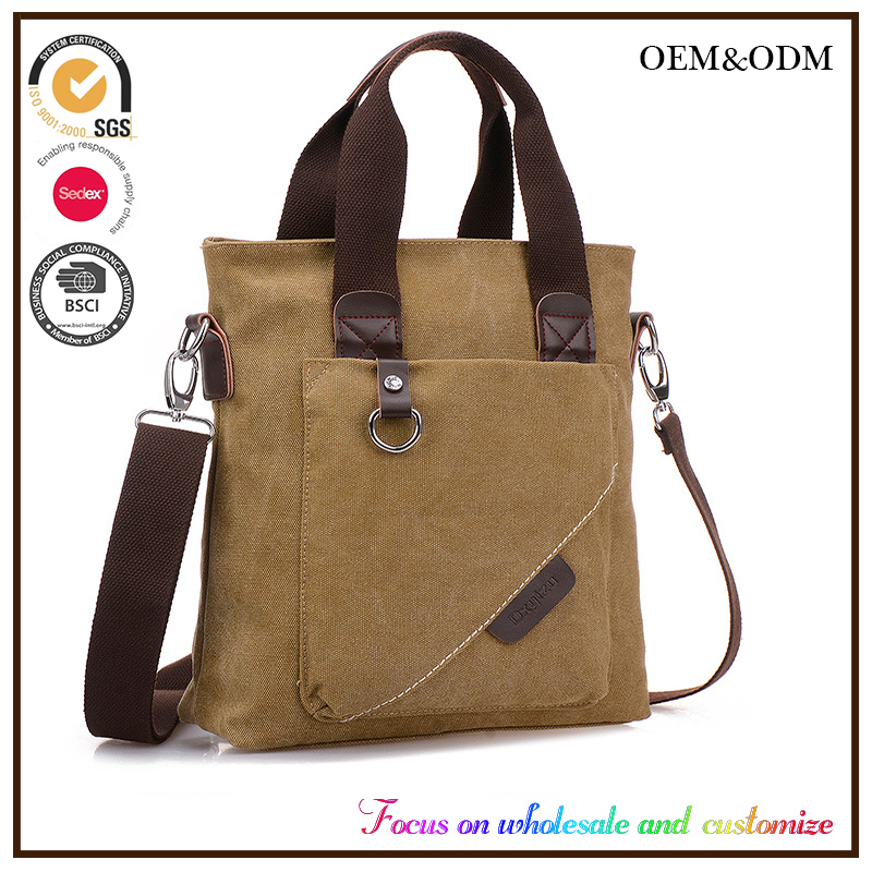 Men's handbags leisure outdoor one shoulder aslant tote bag manufacturers selling China supplier male hand bag online shopping