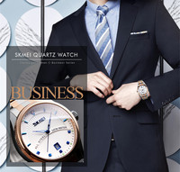 Thin meeting dress rose gold watches luxury new design 3 atm japan movt