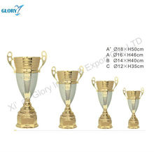 Big Silver Gold Sports European Metal Trophy Cups