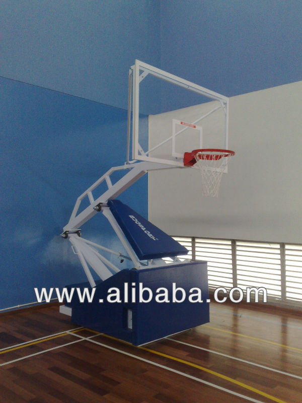 PORTABLE AND FOLD-ABLE BASKETBALL POST