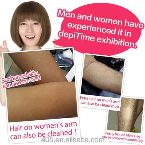 depiTime epilator Newest techology Japan hot sell hair removal patent approve epilator for women as seen on TV