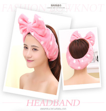100% cotton wholesale headband baby popular hair bow holders