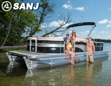 SANJ 7.9 M HOT SALE ALUMINIUM PONTOON BOAT