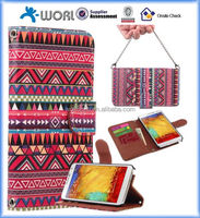 Wallet Ethnic Style Case for samsung Galaxy Note 3/N9000,wallet leather case for samsung galaxy note 3