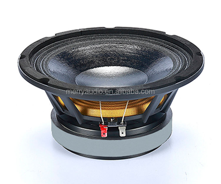 8inch pa waterproof speaker driver unit used in pro light and sound area