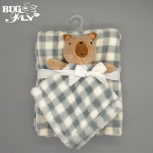 2016 Carter's thick soft touch healthy swaddle baby blanket fleece blanket