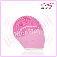facial cleaning device usb rechargeable vibration silicone facial brush