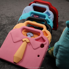 Kids shockproof tie design foam eva case for ipad tablet cover