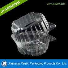 Lettuce PET Plastic Blister Clamshell Container Transparent Food Grade