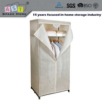 DIY new design folding plastic storage wardrobe cabinet/Best quality most competitive eco friendly plastic foldable wardrobe
