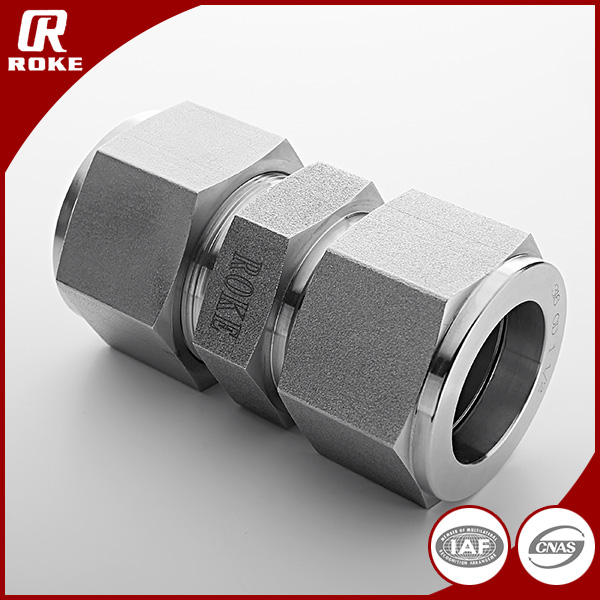 ROKE Carbon Steel Hydraulic Union Compression Fittings