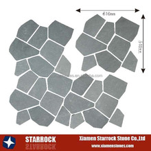 Factory direct sale slate flagstone flooring